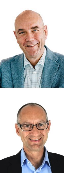 Bengt Lundgren VD Ingmar Karls Projektledare Conscia Netsafe