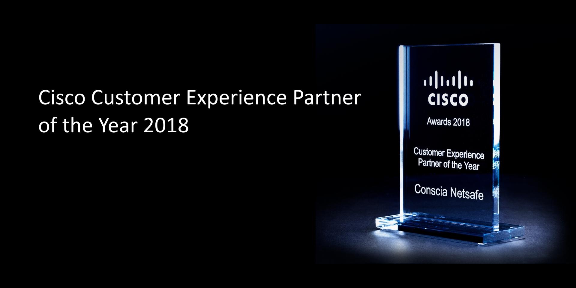 Cisco Customer Experience Partner 2018