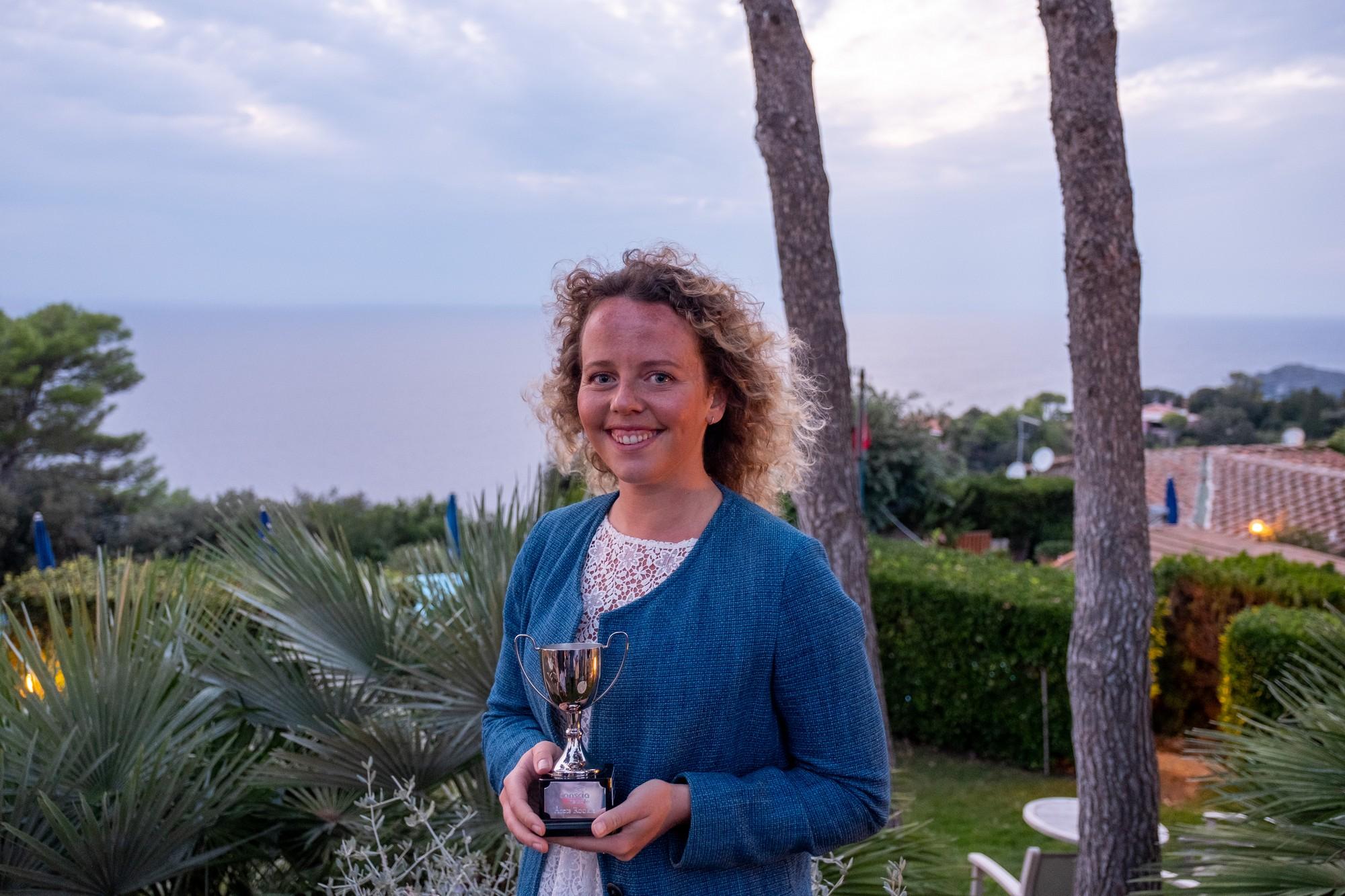 Årets Rookie på Conscia Netsafe 2019 - Mikaela Ersson