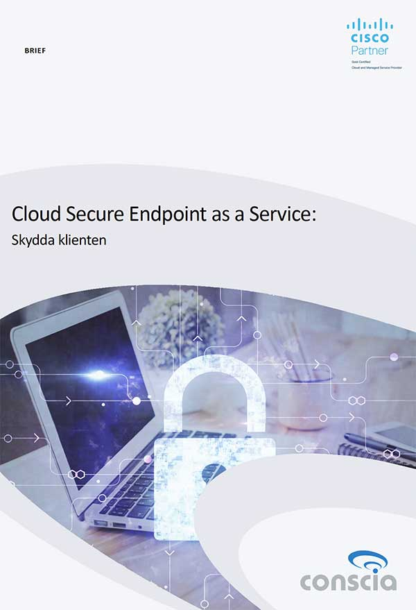 Conscia Cloud Secure Endpoint as a Service Brief
