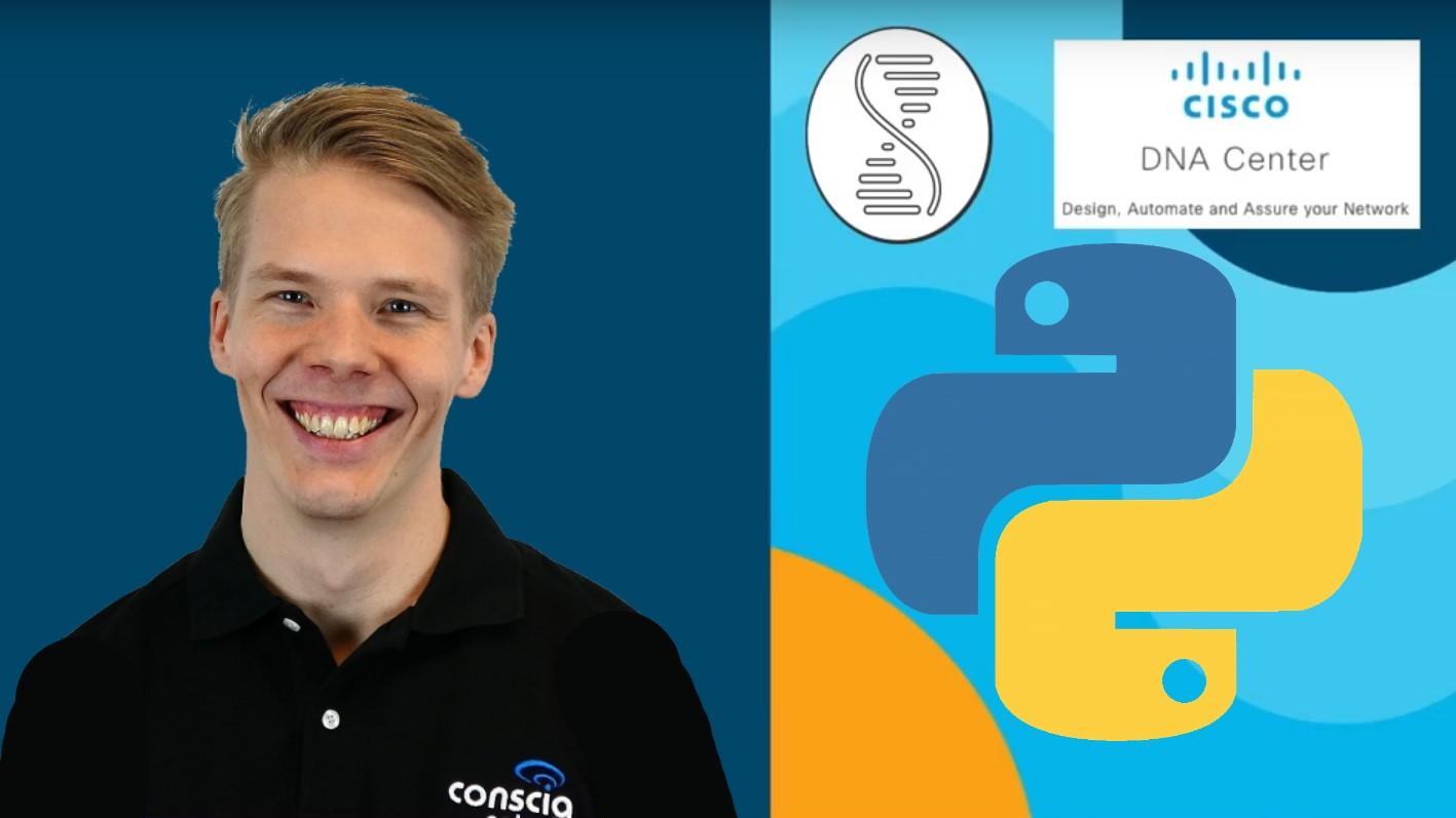GIT och Python verktyg för DNA Center Johan Lahti Conscia