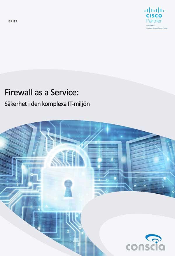 Conscia Firewall as a Service Brief