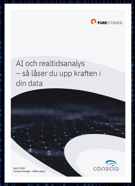 AI och realtidsanalys - Conscia och Pure Storage