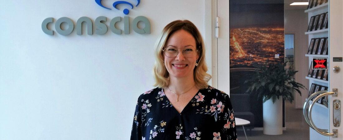 Erica Öhwall projektledare Conscia Sverige