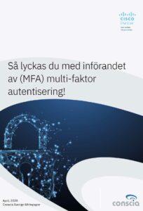 (MFA) multi-faktor autentisering