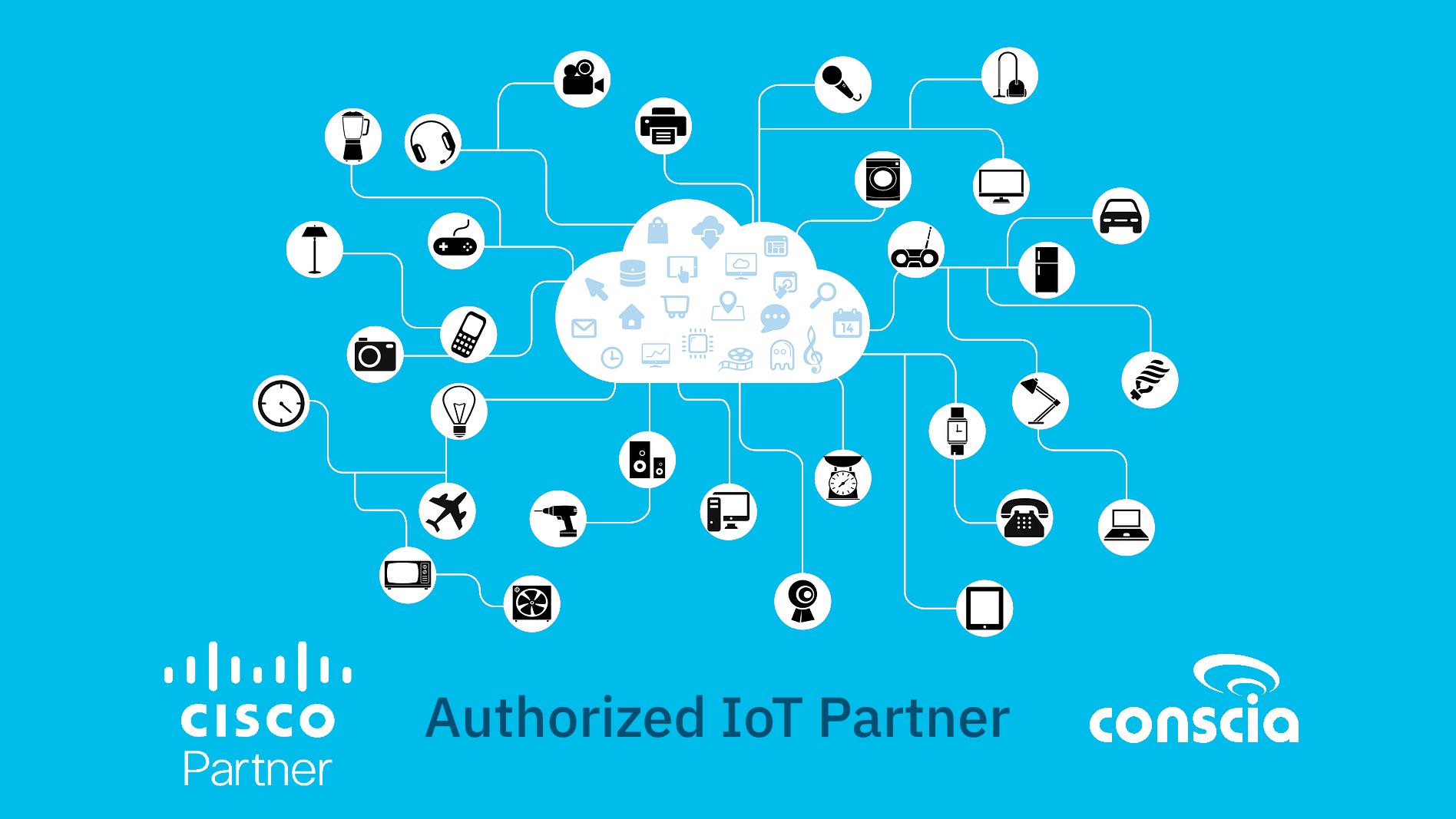 Cisco IoT Partner auktoriserad iot partner industriella nätverk Conscia Sweden