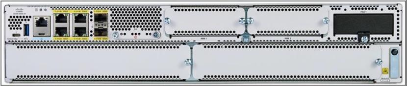 Catalyst 8000 Edge routrar - Cisco C8300-2N2S-6T