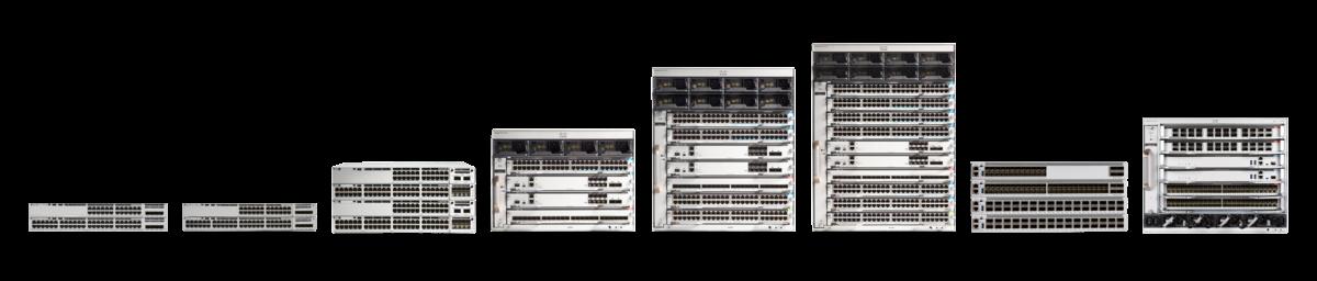Cisco Catalyst 9000-serien Access Core switchar framtidens nätverk