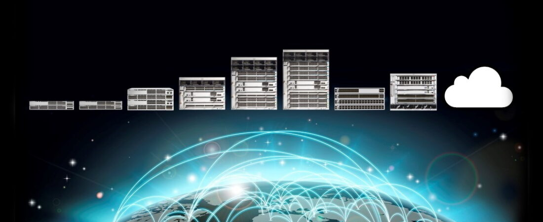 Cisco Catalyst 9000 access core switchar