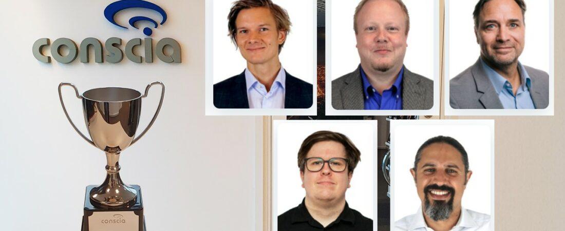 Svenska Pristagare på Conscia 2020