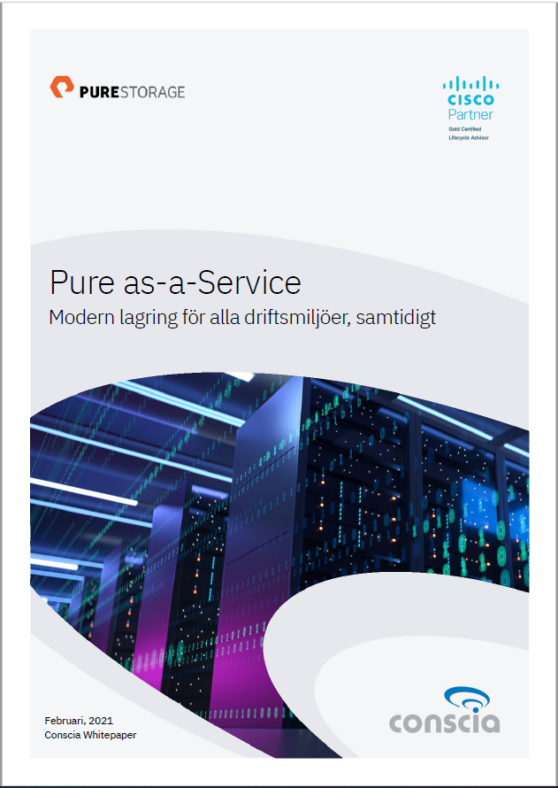 Pure as-a-Service Whitepaper Conscia Pure Storage