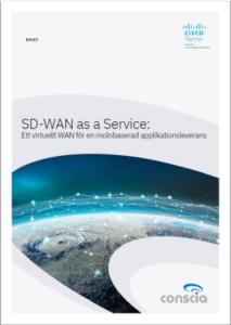 Conscia Brief SD-WAN as a Service SD-WAN som molntjänst