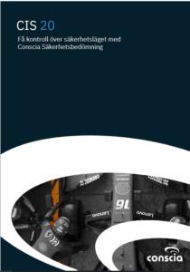 Conscia CIS Controls Brief Säkerhetsbedömning