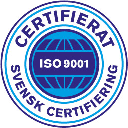 Conscia Sverige certifierat enligt ledningssystem ISO 9001