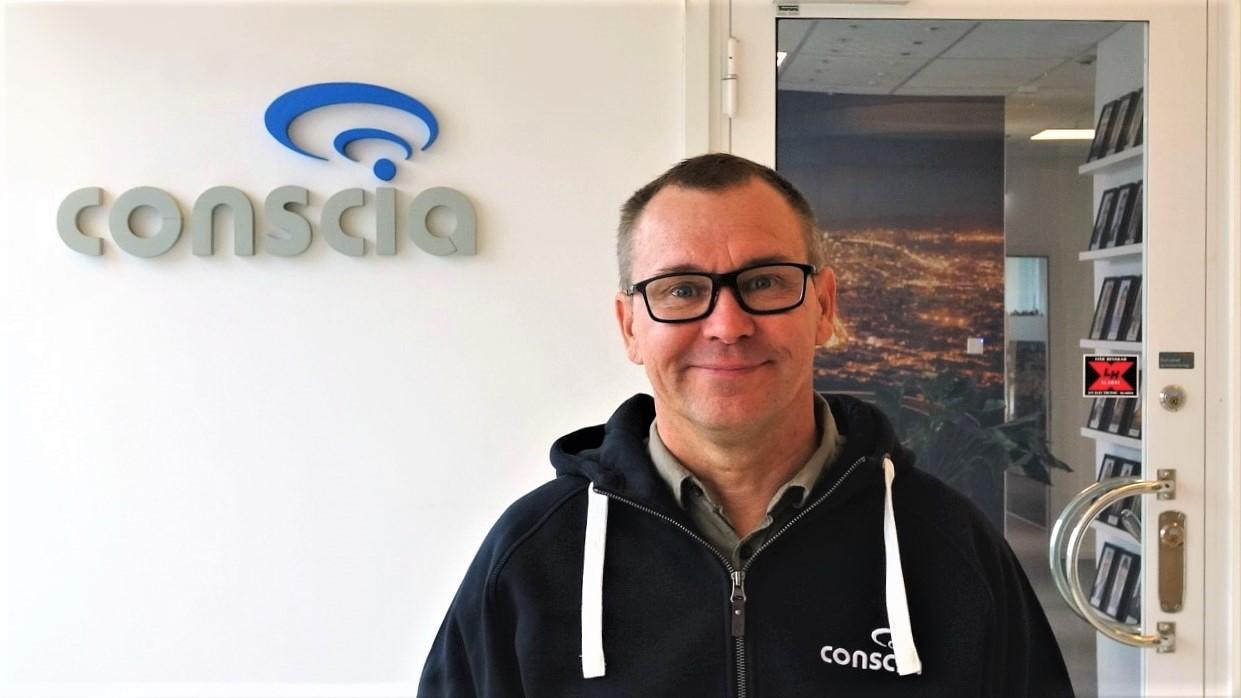 Oskar Norman säkerhetsspecialist Conscia i Malmö Cisco CCNP