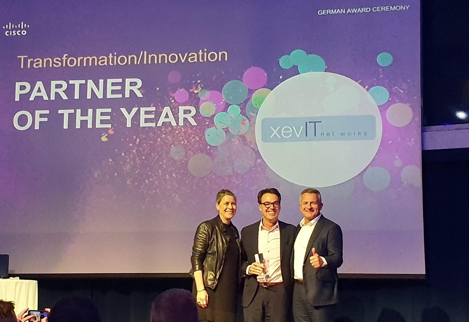 xevIT Transformation innovation partner of the year.tif